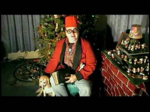 UNCLE PETE AND OXNARD SHARE SOME CHRISTMAS TRADITIONS AT THE DARK VAULT RESEARCH FACILITY