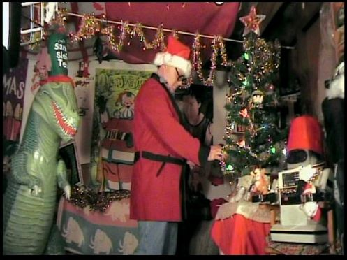 UNCLE PETE GETS THE DARK VAULT READY FOR THIS WEEK'S CHRISTMAS CELEBRATION