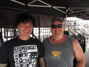 LEN VON SPEEDCULT AND UNCLE PETE AT THE SYRACUSE NATIONALS