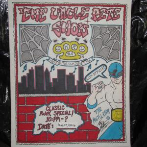 THE OFFICIAL UNCLE PETE SHOW CLASSIC PUNK SHOW BILLBOARD!!!